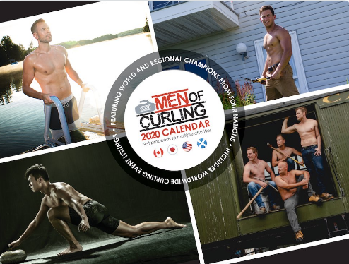 Men of Curling Calendar