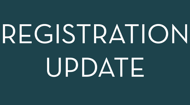 registration update